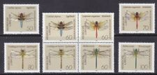 Germany 1670-77 MNH 1991 Dragonflies Includes Block of 4 Very Fine