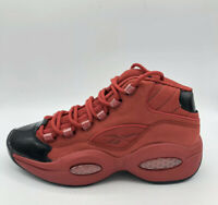 Reebok Question Mid Allen Iverson Heart Over Hype Youth / Kids Sizes Black Red