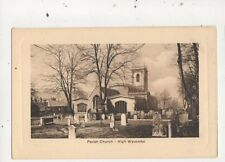 Parish Church High Wycombe Vintage Postcard 751a