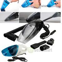New Portable 12V 120W Wet Dry Car Vehicle Mini Handheld Vacuum Dirt Dust Cleaner