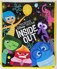 Disney Store Pixar's INSIDE OUT Shopping Bag New Tote with Tag 2015 USA Seller