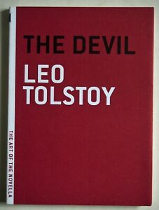 LEO TOLSTOY / THE DEVIL / FIRST MELVILE HOUSE PRINTING / ART OF THE NOVELLA EDTN