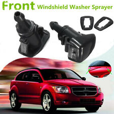 2x Front Windshield Wiper Water Spray Jet Washer Nozzle For 07-12 Dodge Caliber