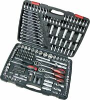 """Tool Hub 9062 Socket Set 216 Piece 1/4"""", 3/8"""" & 1/2"""" Drive"""