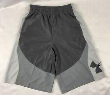 Under Armour MEN'S Athletic Shorts Loose Heat Gear Black Gray 1254397 Size M