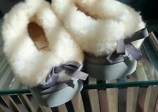 UGG slipper Suede sheep Wool Lined Women's 7 US never worn no tags  new cond