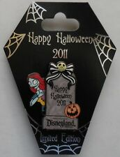 Disney Pin DLR Happy Halloween 2011 Sally Pin LE1000