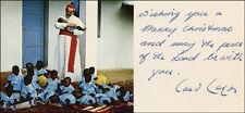 PAUL E. CARDINAL LEGER - CHRISTMAS / HOLIDAY CARD SIGNED