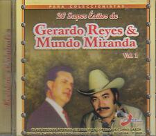 Gerardo Reyes y mundo Miranda 20 Super Exitos Vol 1 Nuevo Sellado Nuevo