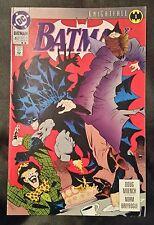 BATMAN NO. 492 - DC COMICS - MAY 1993