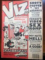 1991 Viz Vintage British UK Adult Comic Magazine Issue 58 46 pages