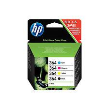 4 Set Original Genuine HP 364 Black Cyan Magenta Yellow Ink Multi Combo