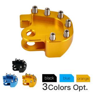 CNC Brake Pedal Tip Foot Peg Rest Pad For Suzuki DRZ250 01-07 RM125/250 92-00