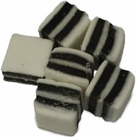 Black and White Mint Retro Sweet Shop Traditional Old Fashioned