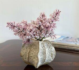 "Small Pottery Vase Nautical Handmade Ceramic Porcelain Stoneware Decorative 4"""