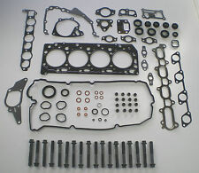 HEAD GASKET SET & BOLTS FITS CHALLENGER L200 TRITON 2.5 TD DiD 16V 2006 on VRS