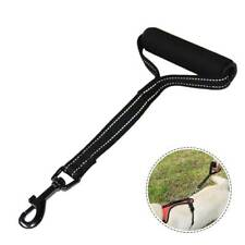 Pet Dog Leash With Traffic Handle for Medium Large Dogs Reflective Short Lead