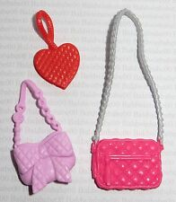 PURSE LOT (PL3) ~ BARBIE DOLL ASSORTED PLASTIC PURSE ACCESSORY ACCESSORIES LOT