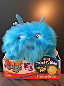 "Beat Bugs Blue Singing Glowie Plush, ""Ticket to Ride"""