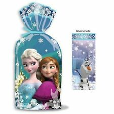 16 Disney Frozen Party Cellophane Treat Bags Favour Gift Sweet Bags