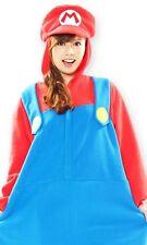 SAZAC Super Mario Brothers Fleece Costume Mario Unisex Halloween F/S Japan New