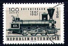 Österreich Mi. 1245 100 Jahre Brennerbahn Dampflok O