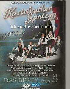 DVD - DER DEUTSCHE SCHLAGER / KASTELRUTHER SPATZEN aus SÜDTIROL - folge 3 PAL