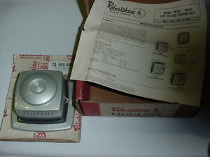 Robertshaw - TH-500-604 Cooling Thermostat TH-72, Line Voltage Thermostat VTG