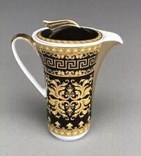 "Rosenthal Fine China Versace Barocco Floralia Gold Ikarus Style Creamer * 4"""