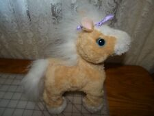 FurReal Friends Butterscotch My Walkin' Pony Neighs Horse Fur Real Pet Hasbro