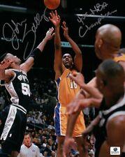 "John Salley Signed 8X10 Autograph Photo "" 4X NBA Champion"" Lakers vs. Spurs GAI"