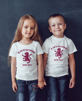 kids Aston Villa football team inspired T shirt or baby bodysuit