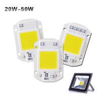 20W 30W 50W Floodlight COB LED Chip 220V Integrated Smart IC Driver Warm White