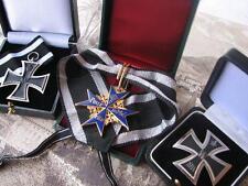 Pour Le Merite Blauer Max Eisernes Kreuz Offizier Immelmann Richthofen Set