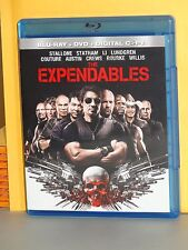 Expendables Blu-Ray BD movie Stallone Crews Statham Lundgren Austin Rourke Li