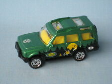 Matchbox Land Rover Discovery Green Body Camping Camp Livery Boxed