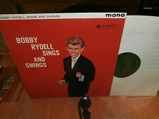 """bobby rydell""""sings and swings""""lp12""""or.uk.columbia:33sx1308 green label.de 1960."""