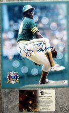Vida Blue Signed autograph GAI COA 11x14  Oakland A's