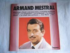 Armand Mestral - Le roi Renaud – La foule – Mississipi – Faust -