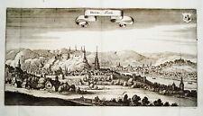 Huy Hoei  Belgien Belgie alter  Merian Kupferstich 1647