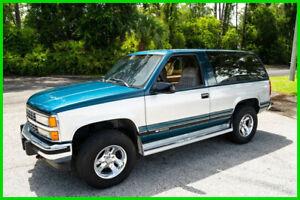 1992 Chevrolet Blazer Silverado 2dr 4WD SUV