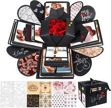 Explosion box porta foto per sorpresa romantica, Scatola regalo per anniversario