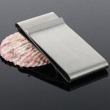 Soldi Banconote Fermasoldi Clip Inossidabile Acciaio Ultra-sottile Portafogli lg