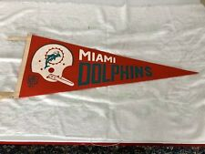 Miami Dolphins Vintage Single Bar Pennant 1968 AFL NFL