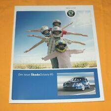 Skoda Octavia RS 2006 Prospekt Brochure Depliant Catalog Prospetto Каталог