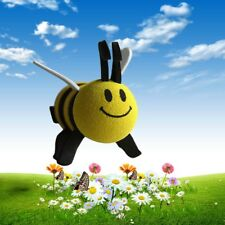 1x Smiley Honey Bumble Bee Car Antenna Topper Aerial Ball Decoration 9*6.8*3cm