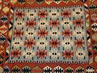 Vintage Handwoven Tribal Geometric Southwest Chimayo ? Area Rug 66x45