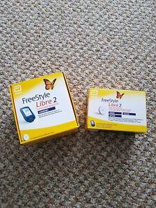 FreeStyle Libre 2 Starterset Neu&OVP  mg/dl 1x Sensor  MHD: 01/22