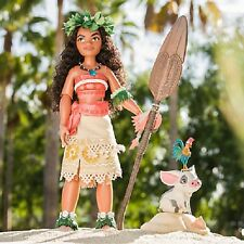 """DISNEY LIMITED EDITION 17"""" MOANA DOLL IN HAND NRFB DISNEY STORE"""