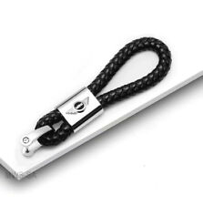 Porte-Clés en Cuir/Metal Logo Mini S Cooper/Clubman/Countryman/Peaceman